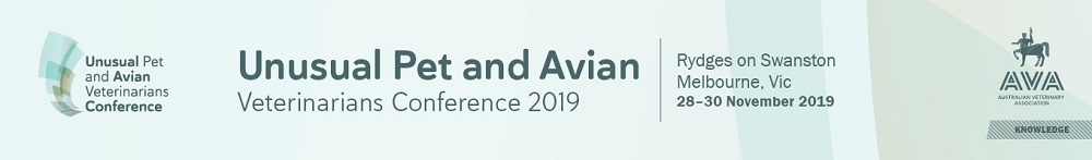 Unusual Pet and Avian Veterinarians Conference 2019