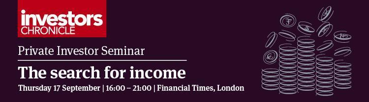 Private Investor Seminar - The search for income