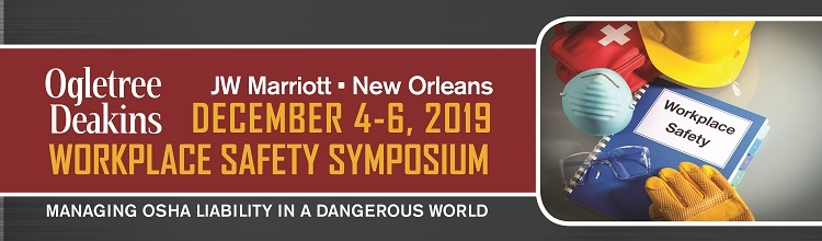 Workplace Safety Symposium 2019