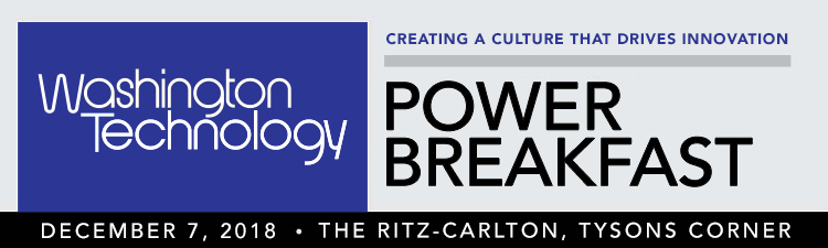 Washington Technology Power Breakfast | Creating A Culture That Drives Innovation