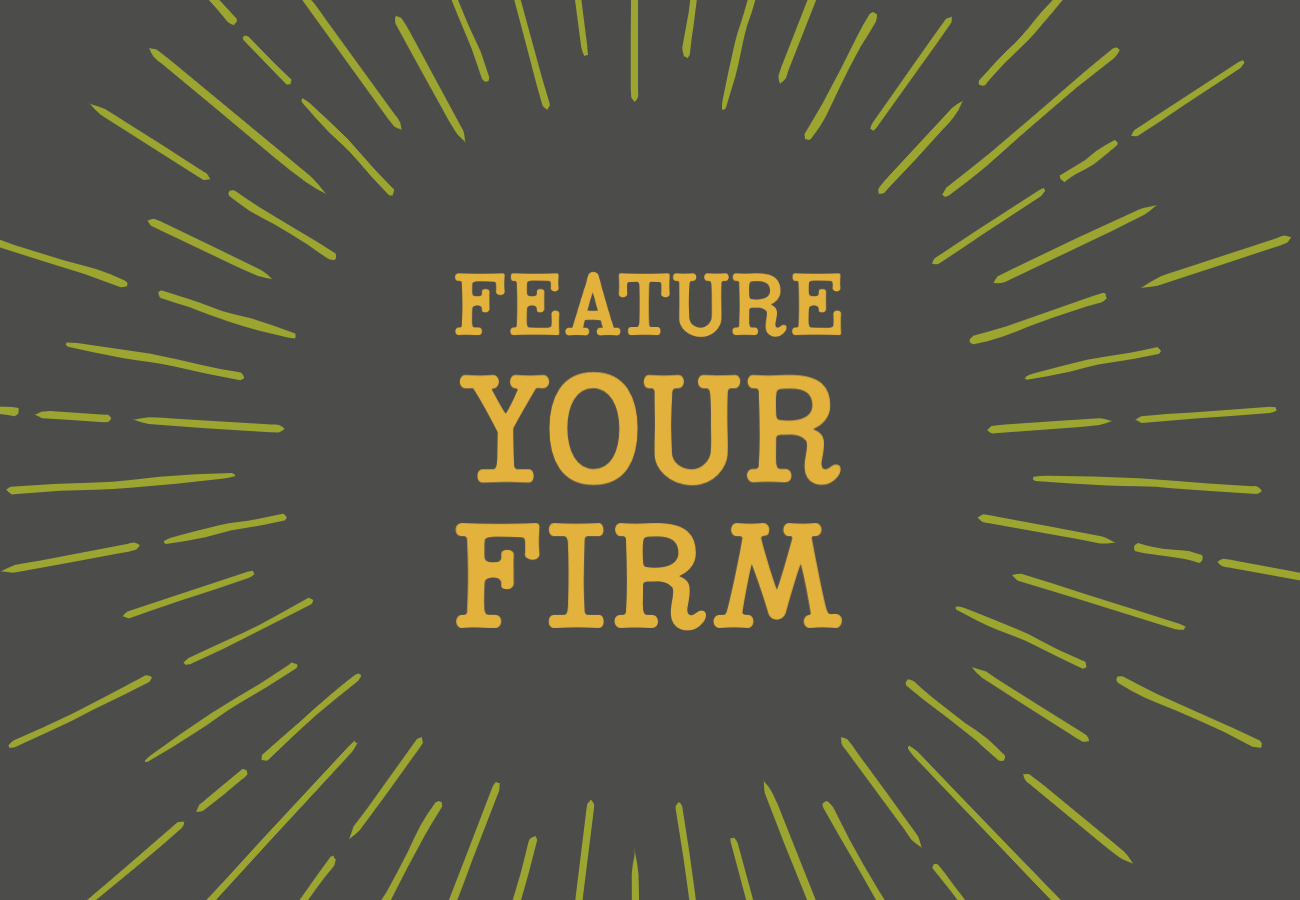 Feature Your Firm