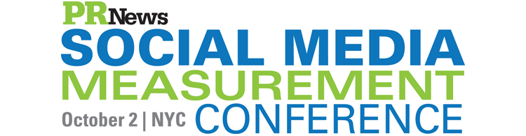 PR News' Social Media Measurement Conference - October 2, 2012 New York