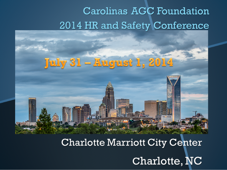 HRSafety Conference 2014