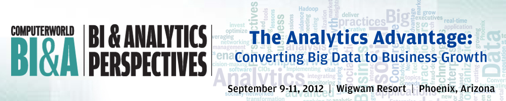 BI & Analytics Perspectives 2012