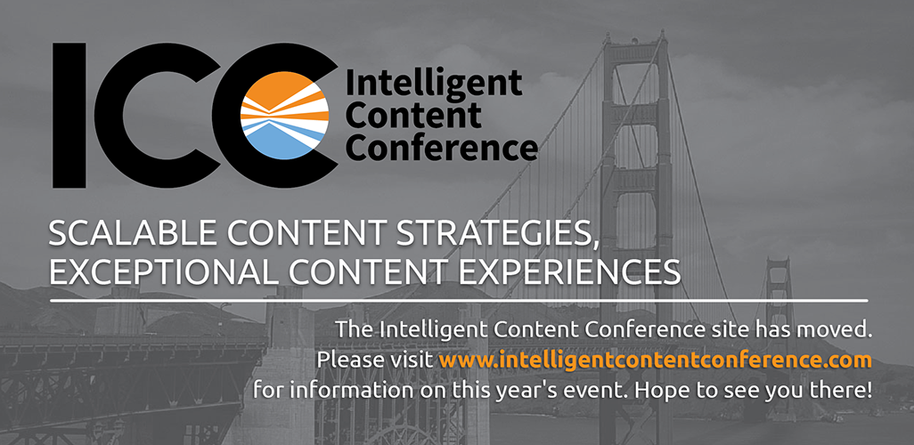 Intelligent Content 2014 (Breaking Down Barriers)
