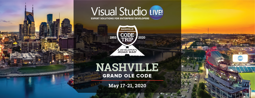 Visual Studio Live Nashville 2020