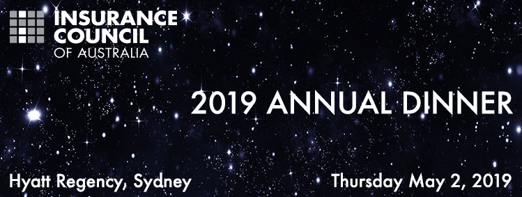 Insurance Council of Australia 2019 Annual Dinner