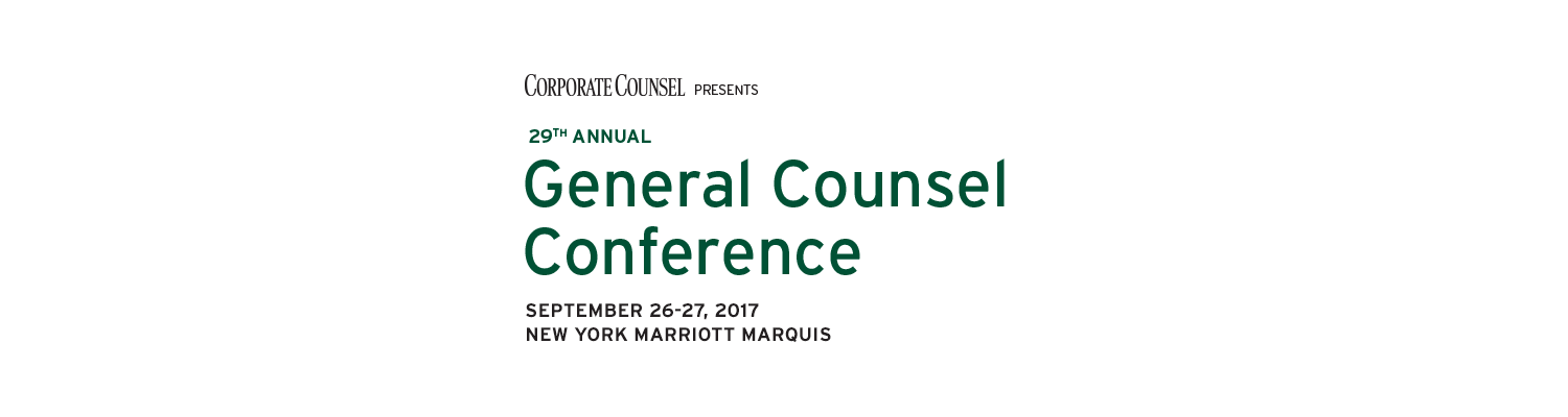 2017 General Counsel Conference