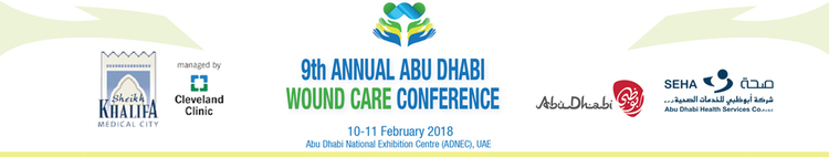 9th Annual Abu Dhabi Wound Care Conference_Feb 10 - 11, 2018