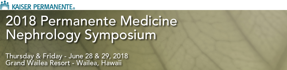 2018 Nephrology Symposium