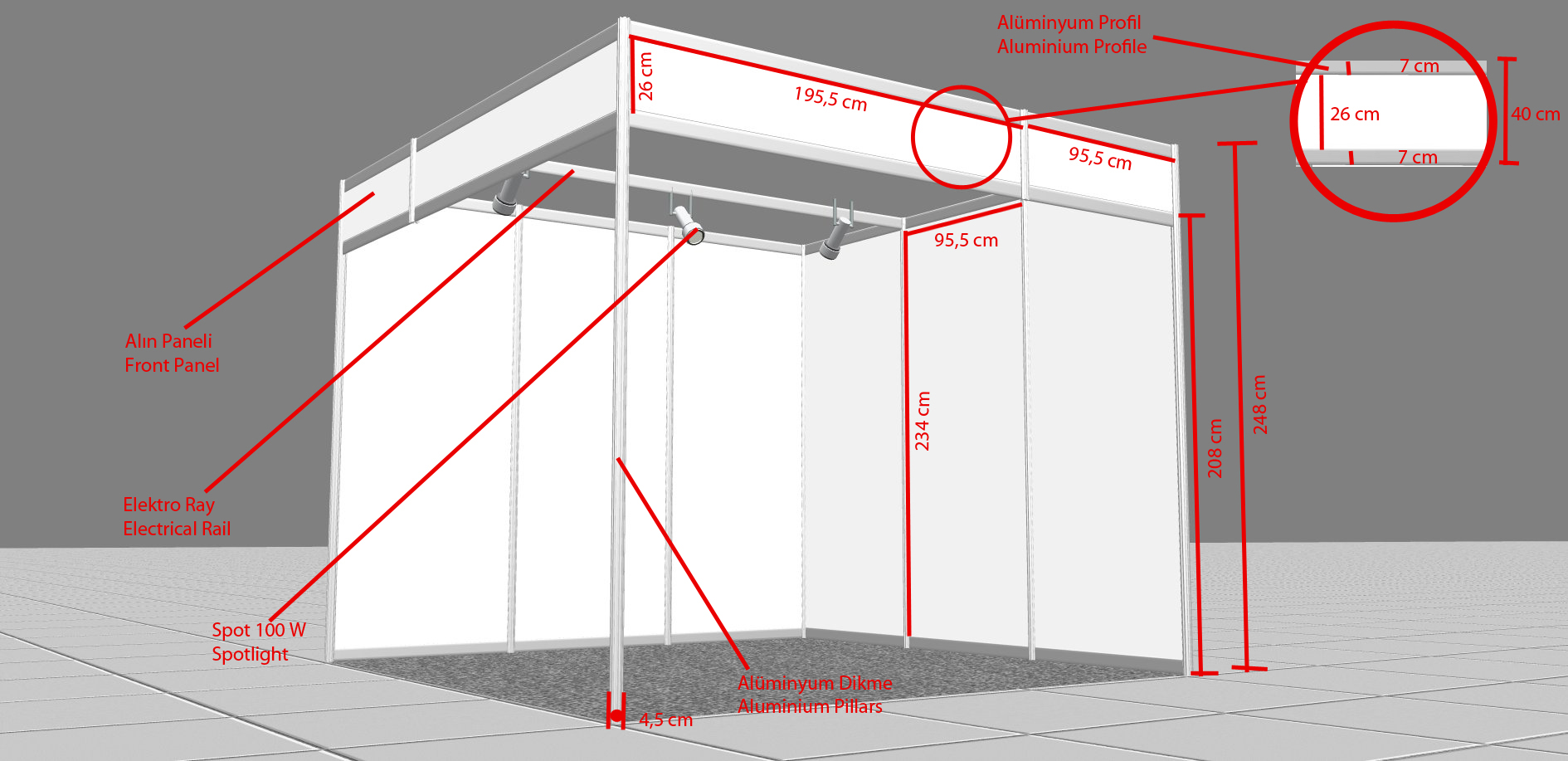 Exhibition Stand Measurements : Rules regulations