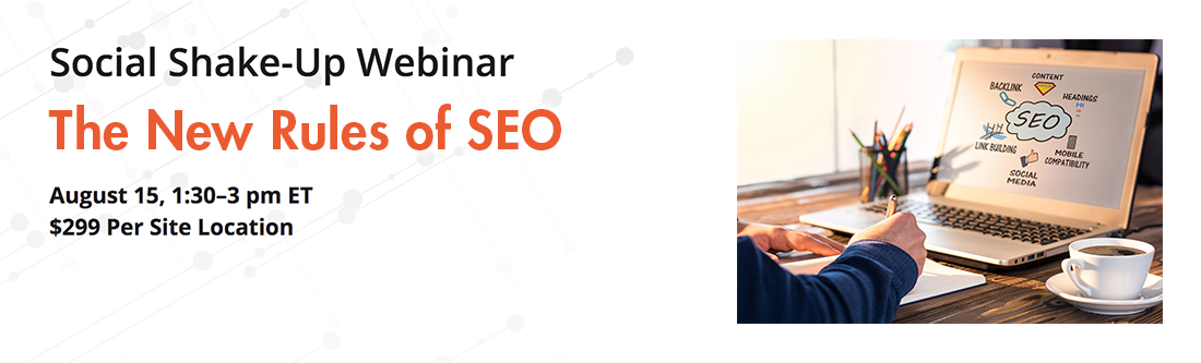 Social Shake-Up Webinar: The New Rules of SEO