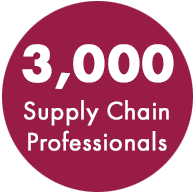 3,000 Supply professionals