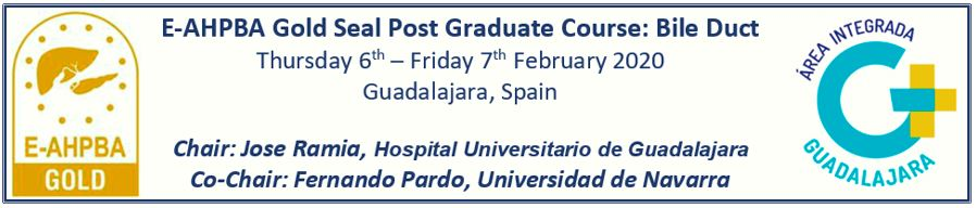 E-AHPBA Post Graduate Course - Guadalajara February 2020