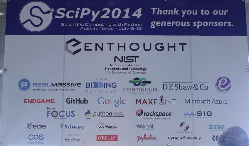 SciPy 2014 Sponsors