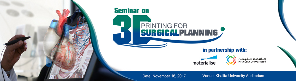 Seminar on 3D Printing for Surgical Planning _Nov 16, 2017