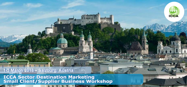 ICCA Sector Destination Marketing Small Client/Supplier Business Workshop