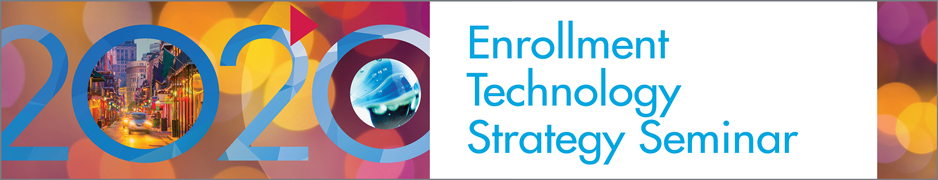 2020 Enrollment Technology Strategy Seminar - Exhibitor Package