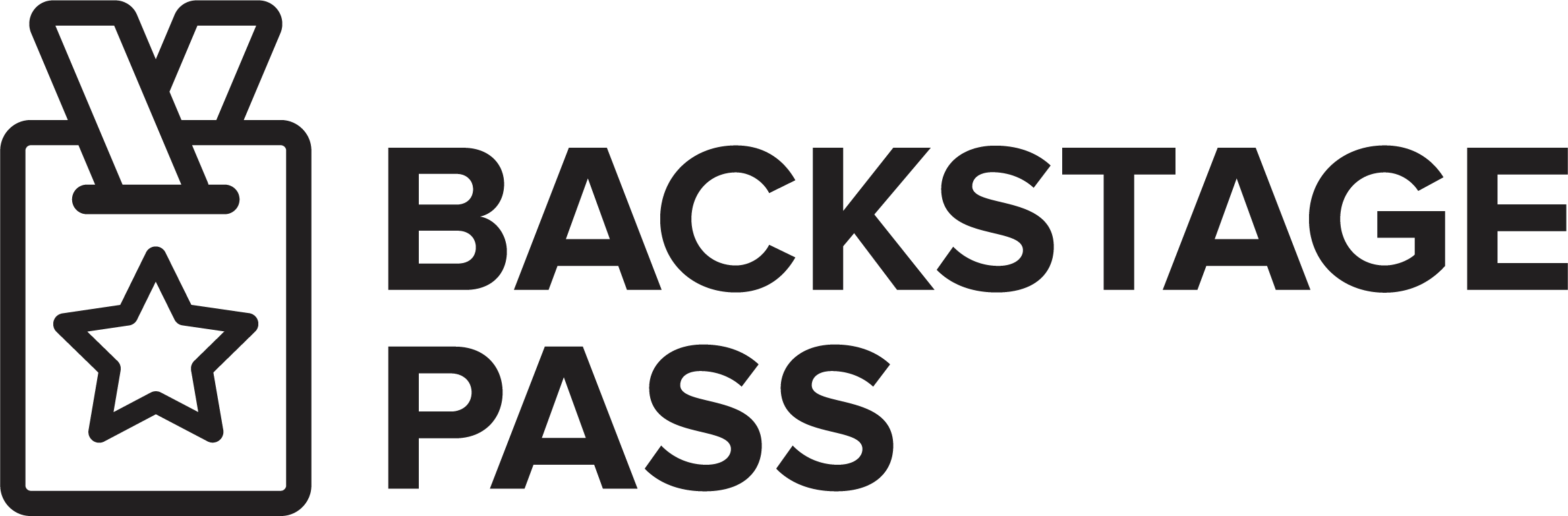 Back Stage Pass Logo