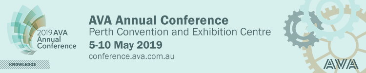 2019 AVA Annual Conference exhibition booking portal