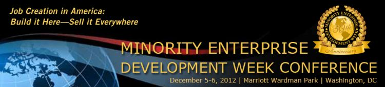 Minority Enterprise Development Week Conference - 30th Anniversary