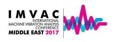 IMVAC Middle East 2017 - International Machine Vibration Analysis Conference