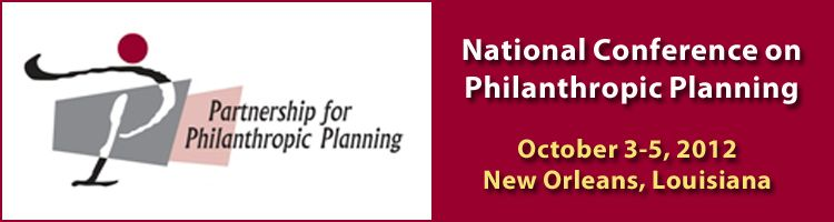 2012 National Conference on Philanthropic Planning