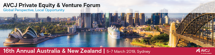AVCJ Private Equity & Venture Forum - Australia & New Zealand 2019