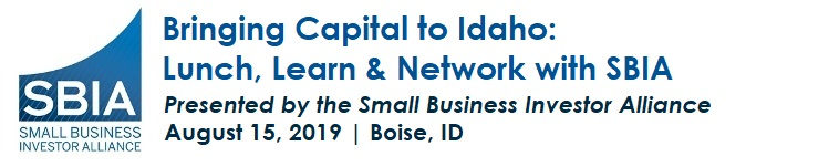 Bringing Capital to Idaho: Lunch, Learn & Network with SBIA