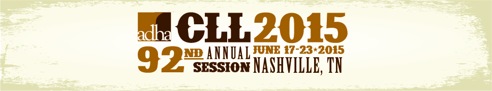 ADHA 2015 CLL at the 92nd Annual Session