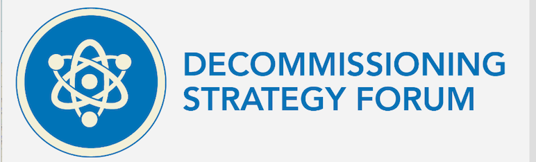 2019 Decommissioning Strategy Forum