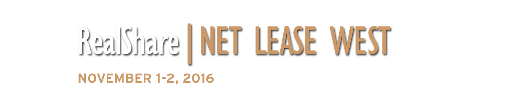 2016 RealShare Net Lease West