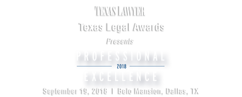 2018 Texas Legal Awards