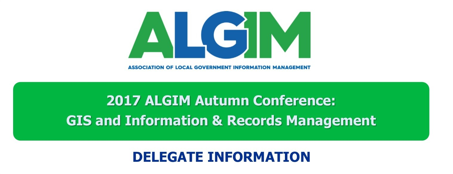 2017 Autumn Conference Gis And Irm