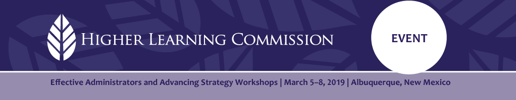 Effective Administrators and Advancing Strategy Workshops