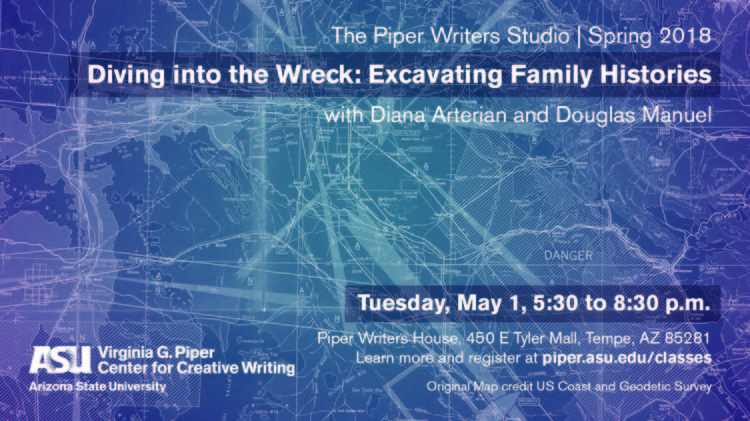 Diving into the Wreck: Excavating Family Histories in Poetry, Creative Nonfiction, & Hybrid Writing