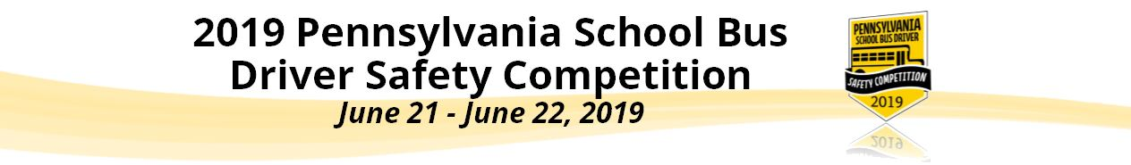2019 Pennsylvania State School Bus Safety Competition Sponsors & Shoutouts
