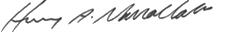 Henry Nasrallah signature