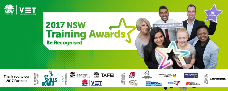 Department of Industry - 2017 NSW Training Awards