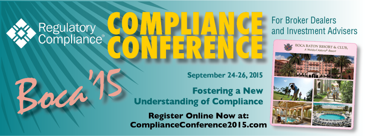 Boca 2015 Compliance Conference