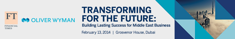 Transforming for the Future: Building Lasting Success for Middle East Business