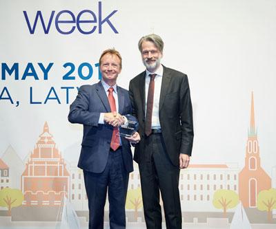 Morten Elbæk, eHealth Leadership Award Recipient 2015