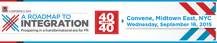 PRWeek Conference and 40 Under 40 Dinner 2015