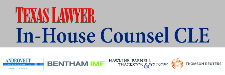 2016 In-House Counsel CLE (Houston) 10.05.16