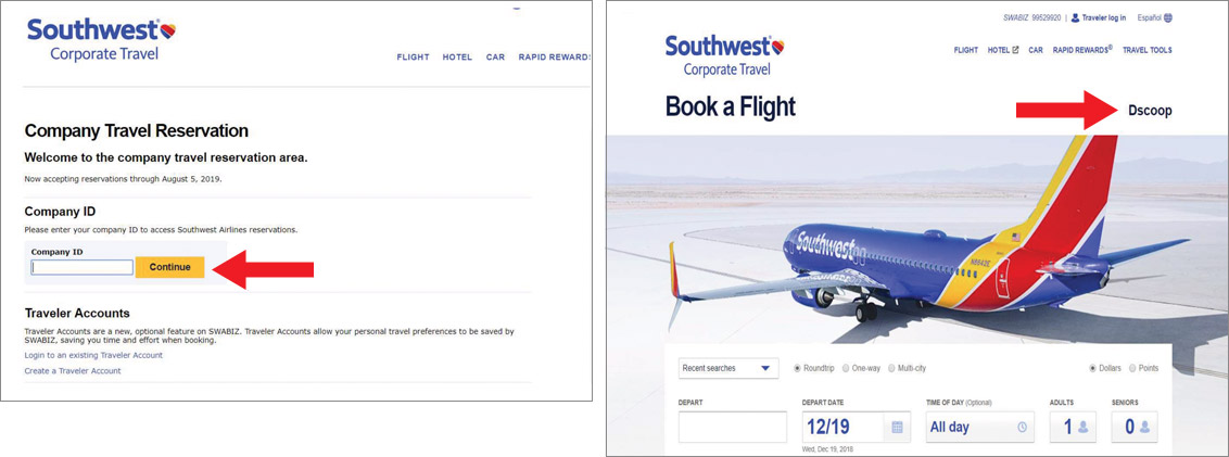 Southwest screenshot