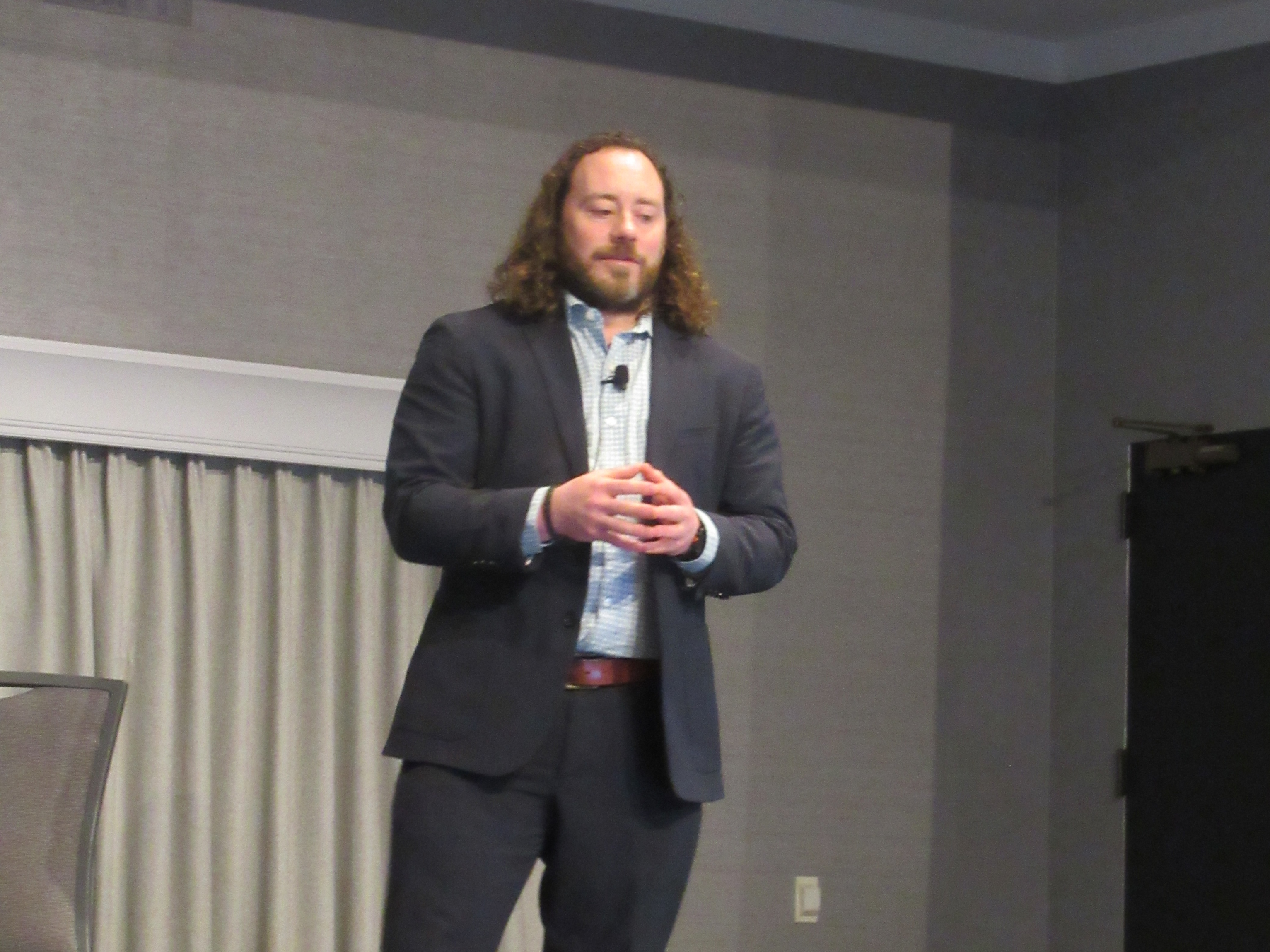 Nicholas Packet at HealthPack 2019
