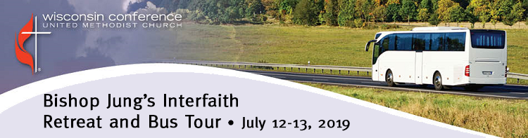 Bishop Jung's Interfaith Retreat and Bus Tour 2019