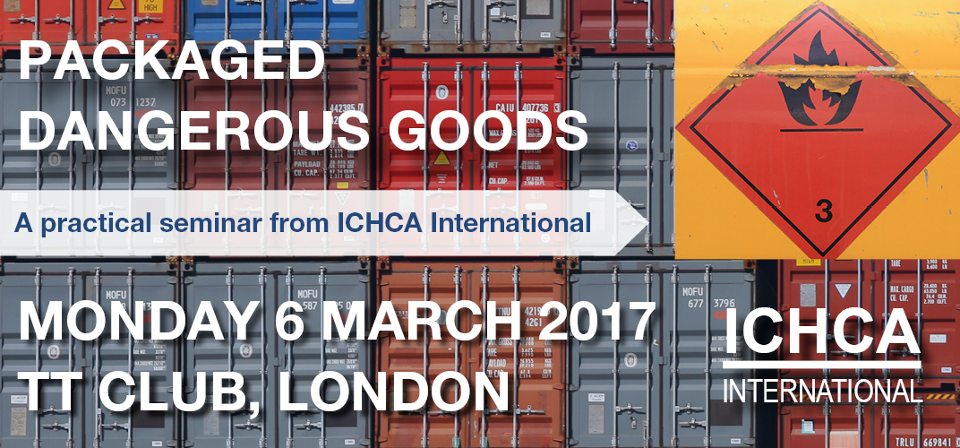 ICHCA Packaged Dangerous Goods Seminar and ISP 77