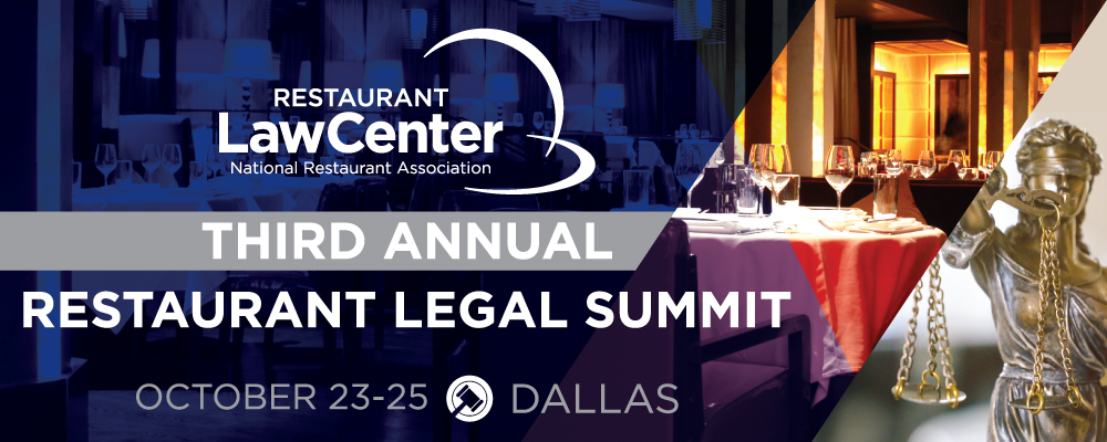 Restaurant Law Center Legal Summit Fall 2019
