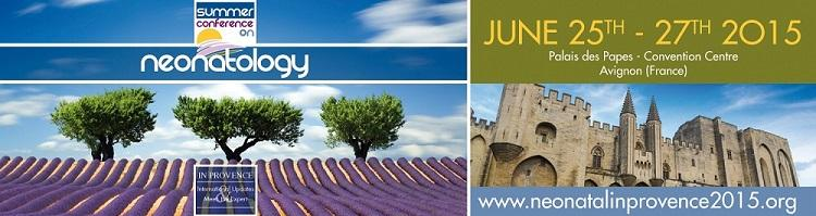 Summer Conference on Neonatology in Provence - FEEDBACK SURVEY